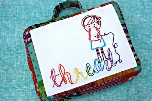 Embroidery-to-go Bag – Free Sewing Tutorial