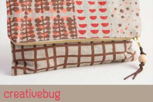 Screen Print Fabric and Sew a Clutch Online Class