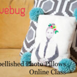 Sew Embellished Photo Pillows Online Class