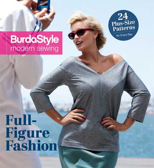 Sew stylish, flattering garments for plus-size women in sizes from 14 to 24.