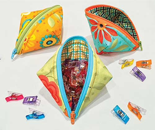 These pods are quick and easy to make and are perfect for holding all your little treasures.