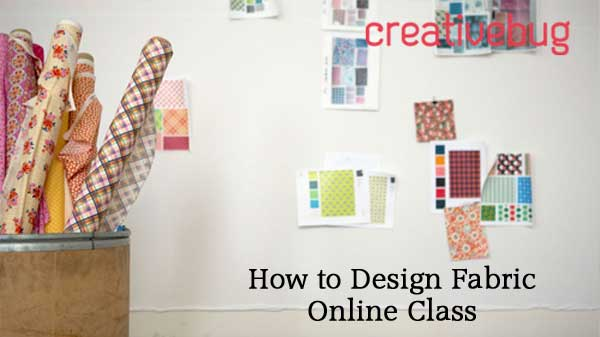 How to Design Fabric Online Class