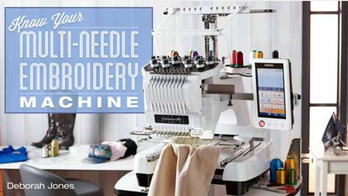 Know Your Multi-Needle Embroidery Machine Online Class