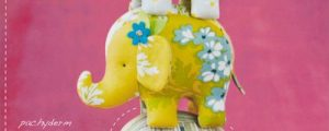 Effie & Ollie Elephant Sewing Pattern