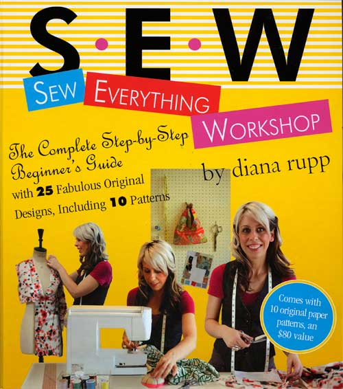 Learn everything the beginner sewer needs to know to get started sewing.