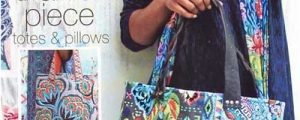 Artful Piece Tote Sewing Pattern