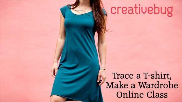 Trace a T-shirt, Make a Wardrobe Online Class