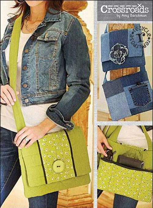 This messenger bag has a large quilted flap to keep items secure.