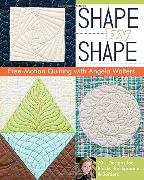 With 70 free-motion quilting designs, this is the go-to resource for any quilting project.