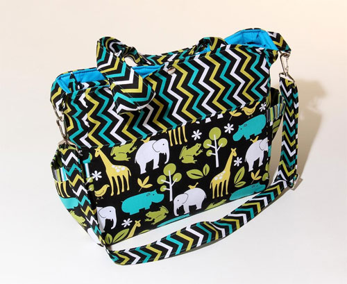 Sophie Diaper Bag Sewing Pattern