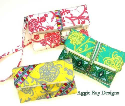 Fold Over Clutch Bag Sewing Pattern