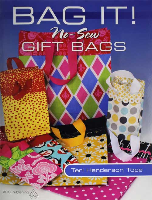 Let handmade, no-sew gift bags dress up every occasion.