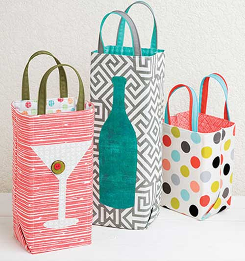 Tuck a gift into one of these special, handmade gift bags to thank your host in style.