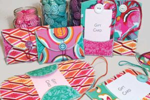 Gifty Card Holders Sewing Pattern