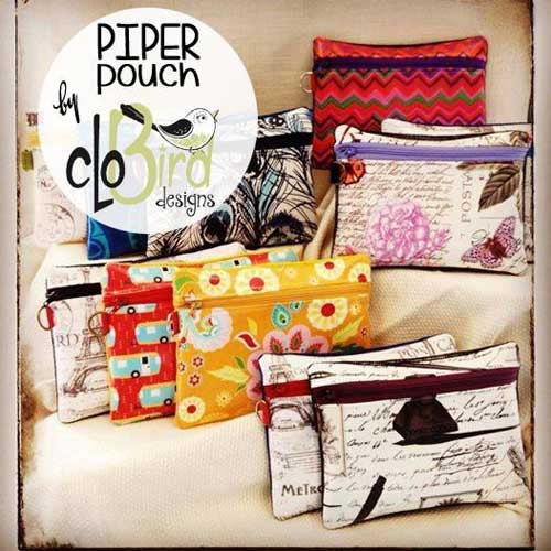 Piper Pouch Sewing Pattern