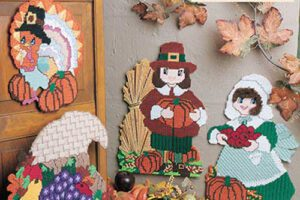 Thanksgiving Gifts Plastic Canvas Sewing Pattern