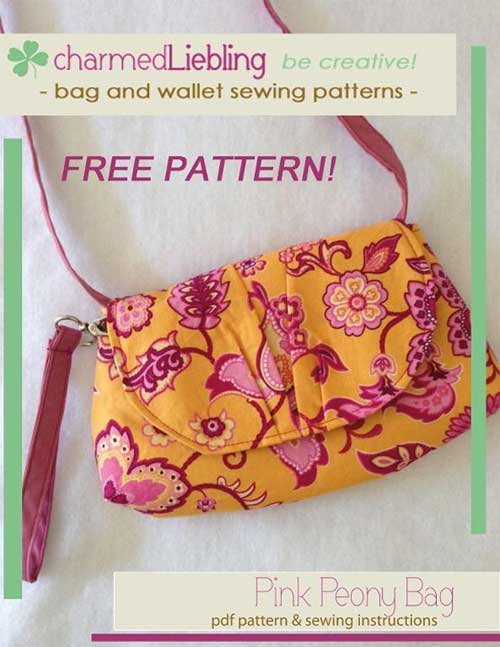 This small, versatile bag has a fun style and is easy to make.