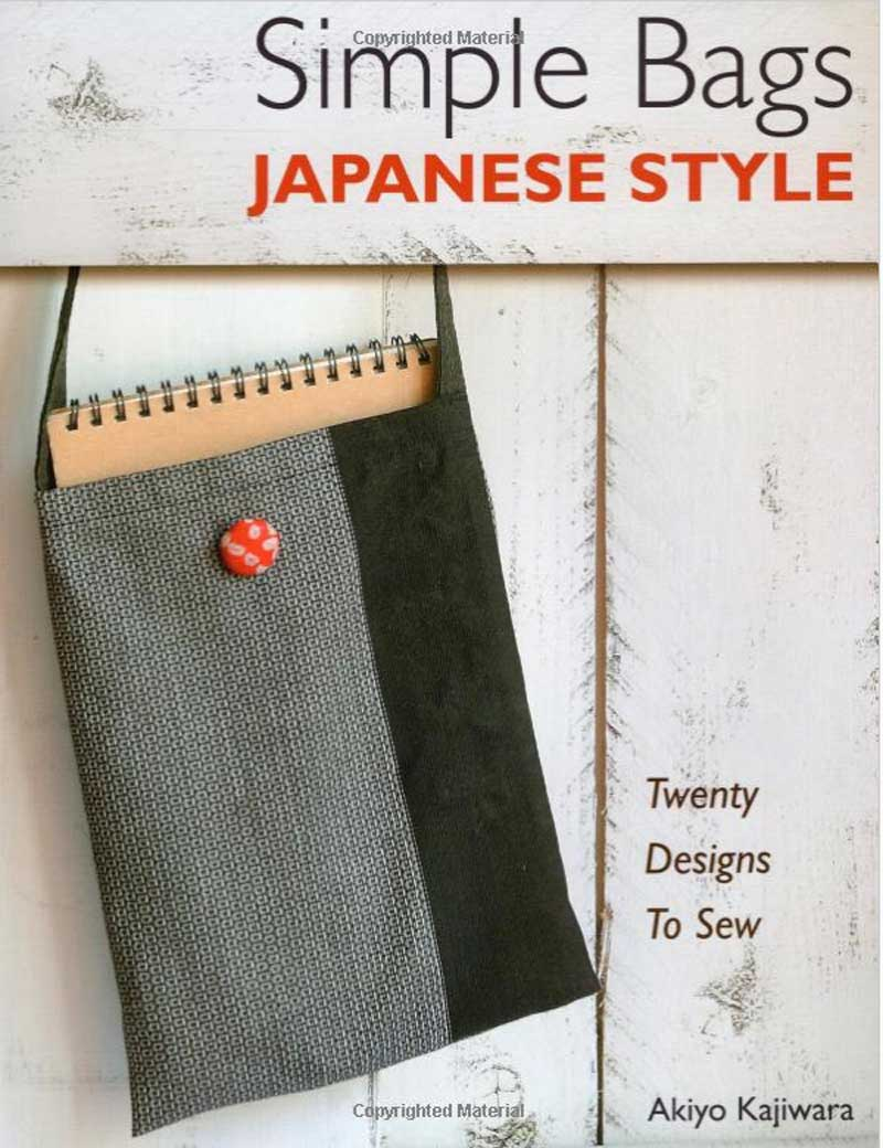 Choose from 22 stylish bag designs in a simple Japanese-inspired style.