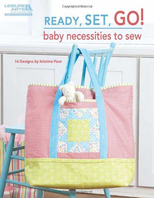 These handy accessories are easy to sew and will help to keep baby well organized.