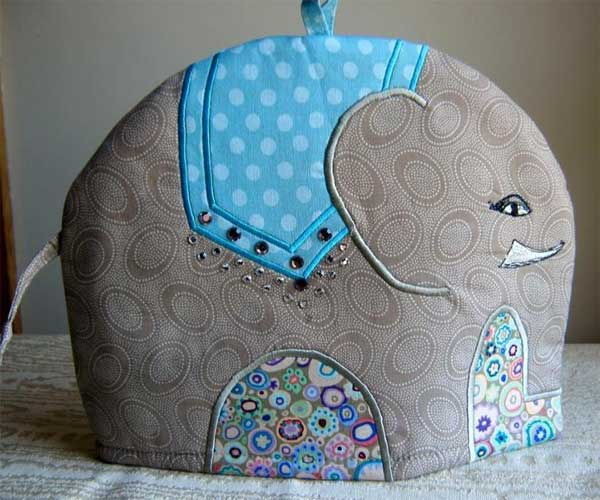 Elephant Tea Cosy Sewing Pattern