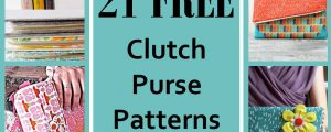 21 Free Clutch Purse Patterns