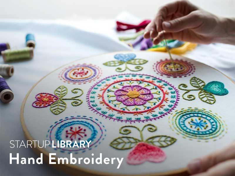 Startup Library: Hand Embroidery Online Class