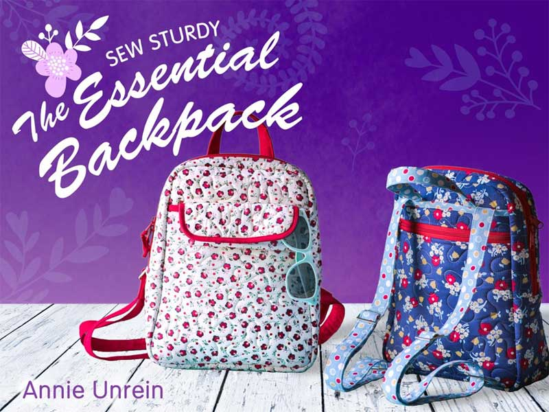 Sew Sturdy: The Essential Backpack Online Sewing Class