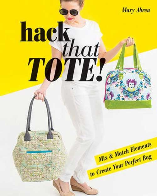 One pattern, infinite looks! With simple tweaks, you can reinvent the basic tote