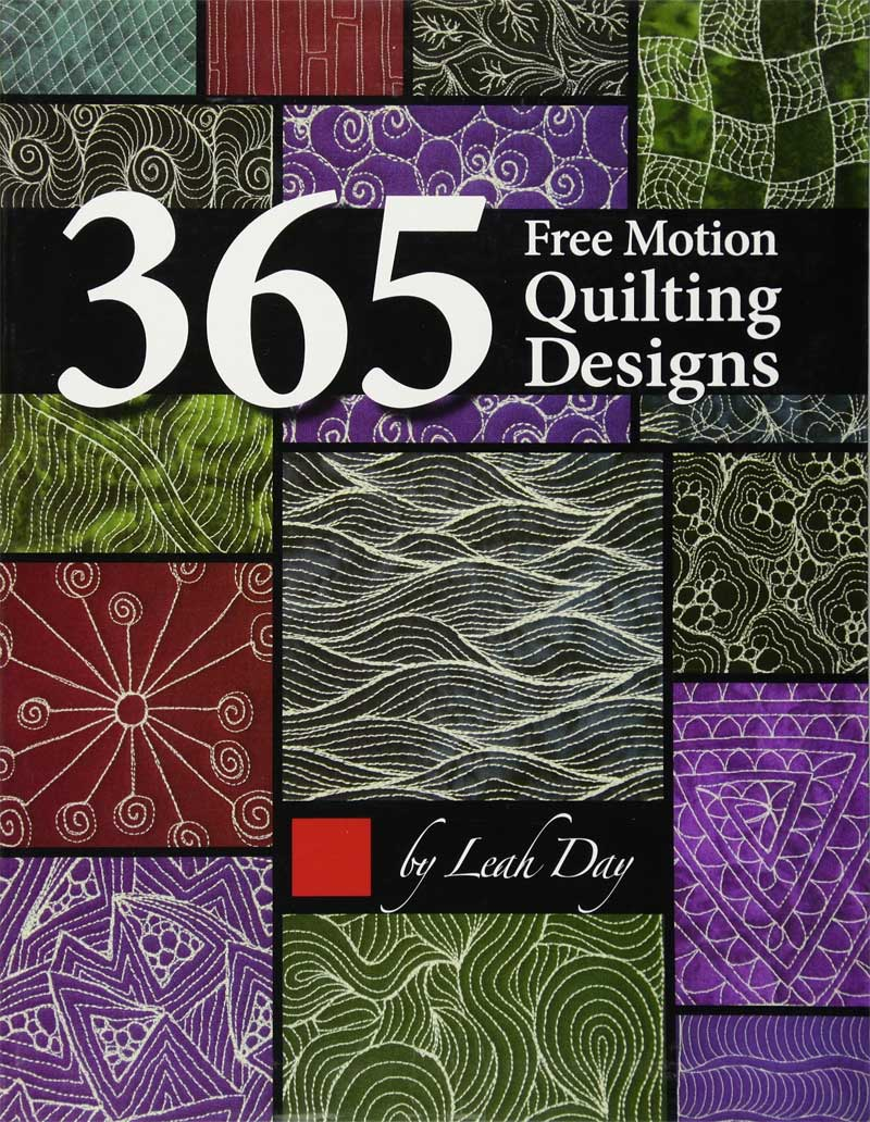 A compilation of 365 free-motion quilting designs, this book contains a treasury of ideas and inspiration.