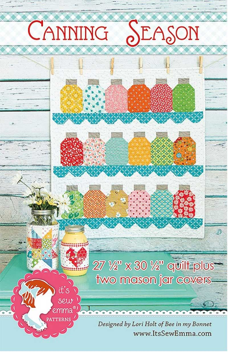 Canning Season Quilt Pattern