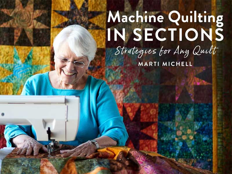 Machine Quilting in Sections Online Class