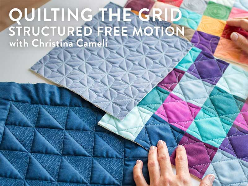 Quilting the Grid: Structured Free Motion Online Class