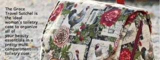 Grace Travel Satchel Toiletry Bag Pattern