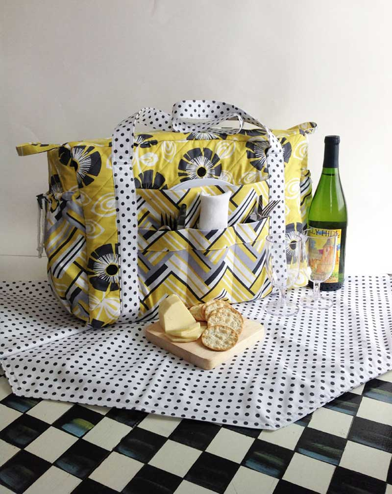 The perfect picnic tote to carry all your necessities!