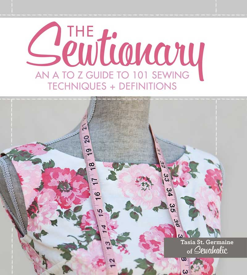 This book covers the most essential sewing terms and techniques.