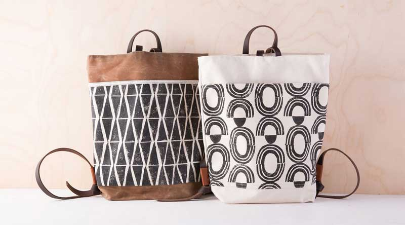 Stamped and Sewn Backpack Online Class