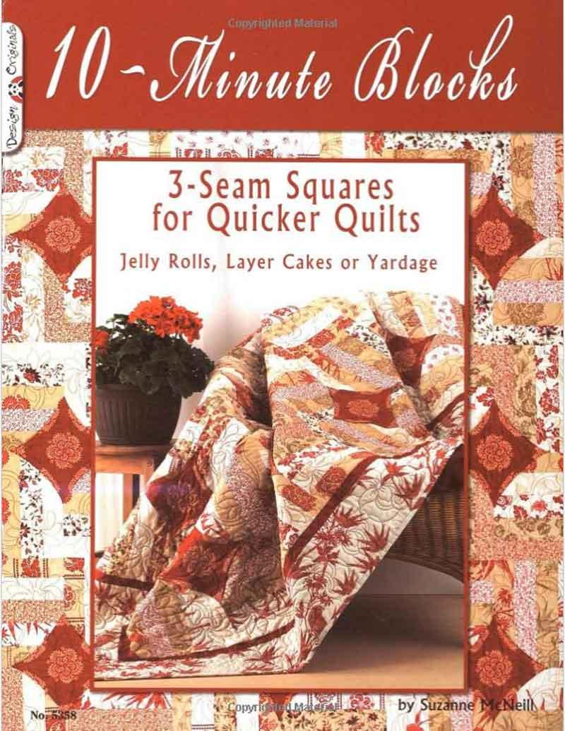 10-Minute Blocks: 3-Seam Squares for Quicker Quilts
