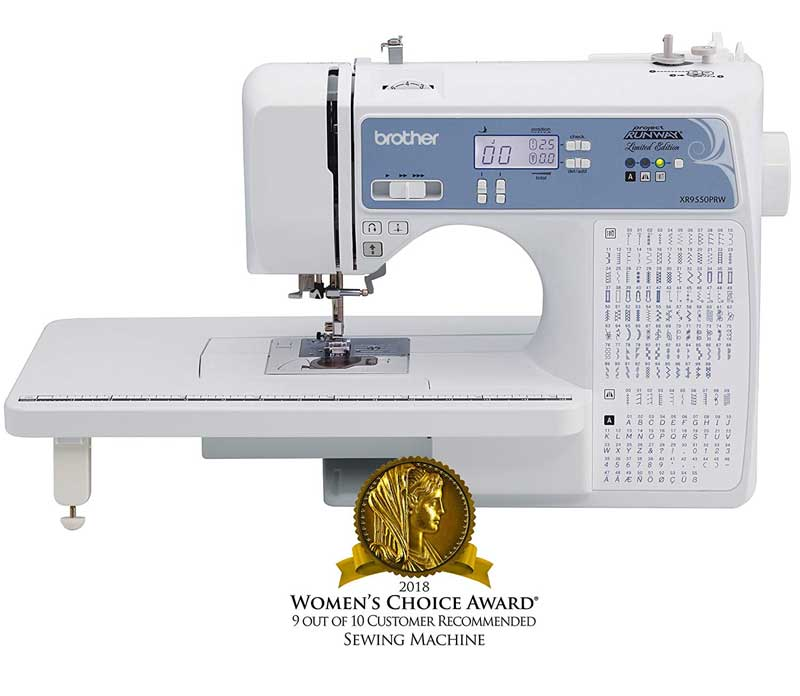 Brother Sewing Machine XR9550PRW Project Runway Limited Edition