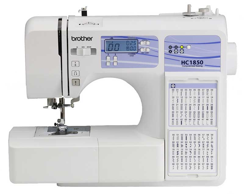 Brother Computerized Sewing and Quilting Machine HC1850