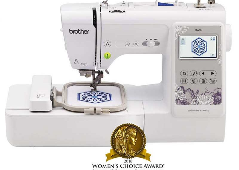 Brother Computerized Sewing and Embroidery Machine SE600