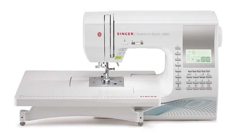 Singer Quantum Stylist Computerized Portable Sewing Machine 9960