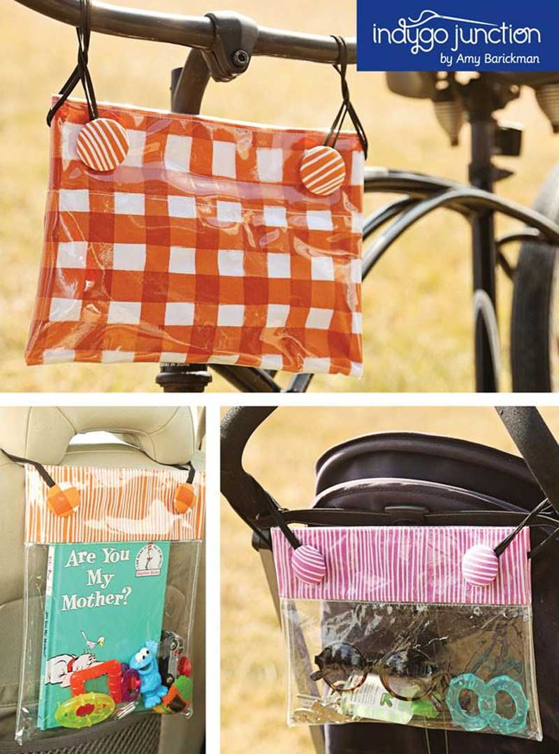 On-the-Go Bungee Bags Pattern
