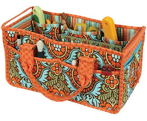 You'll love this oversized, sturdy caddy to organize and hold all of your sewing supplies.