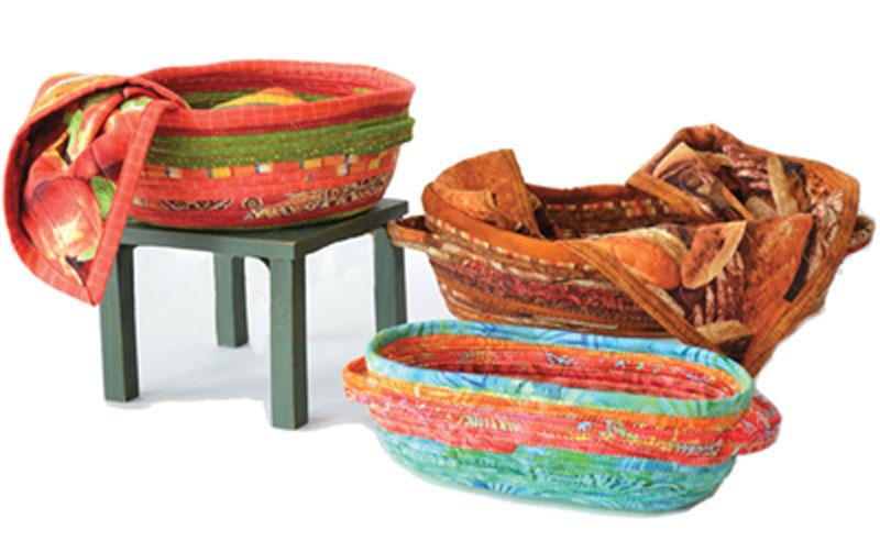 Fabric Bread Basket Sewing Pattern