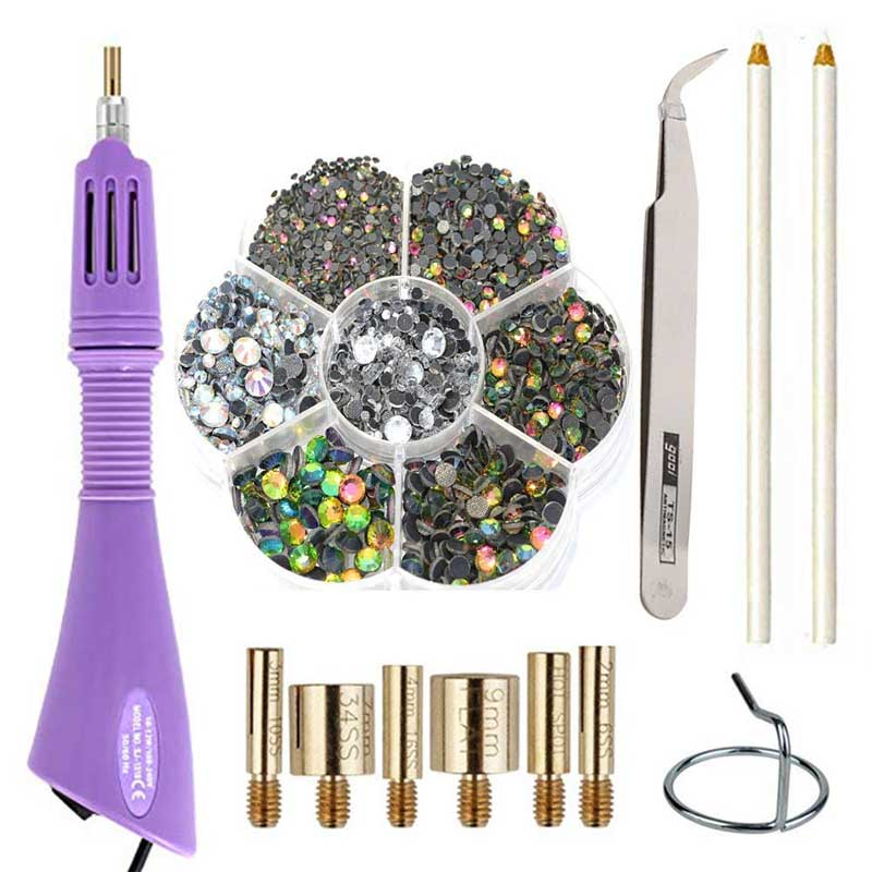 Hot-fix Rhinestone Applicator Tool Kit