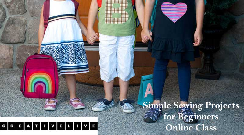 Simple Sewing Projects for Beginners Online Class
