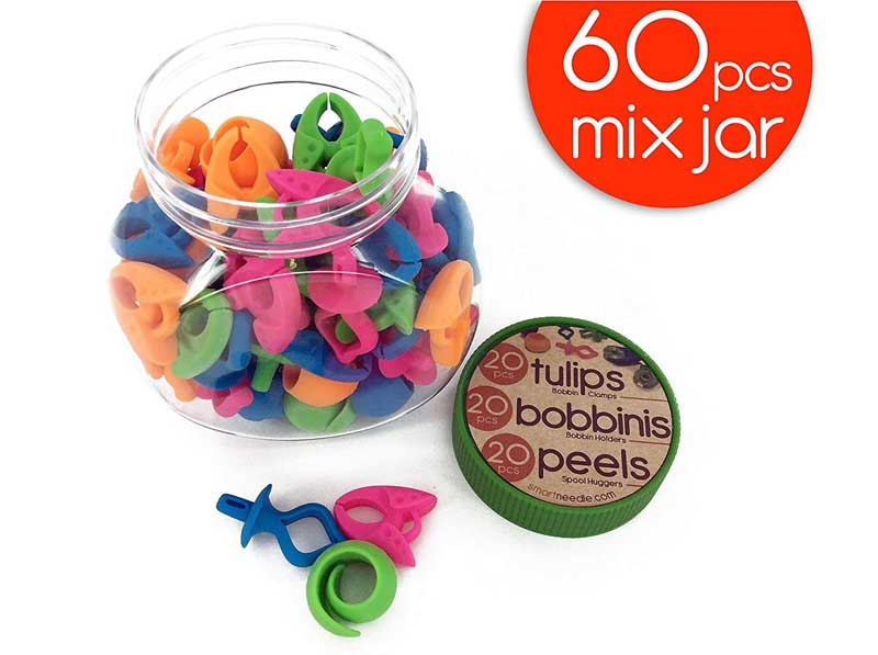 60 Pieces Mixed Notions Jar