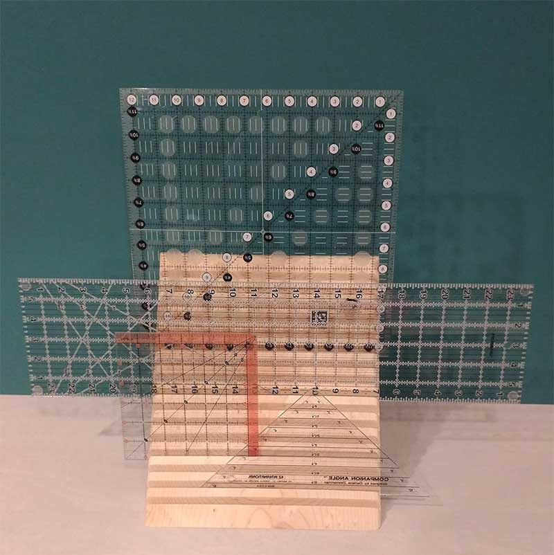 Quilting Ruler Rack
