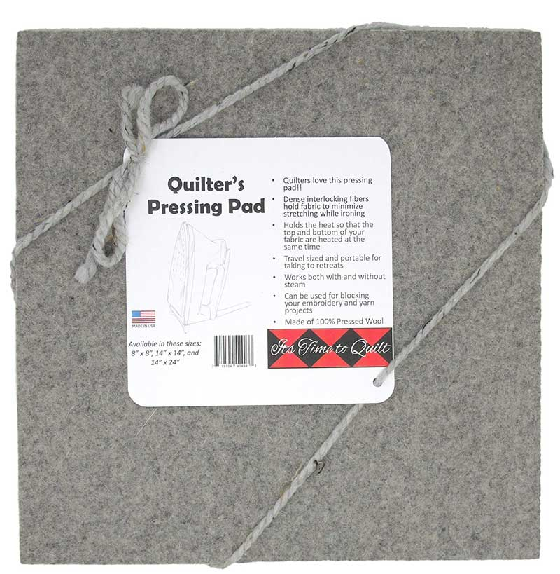"Quilter's Pressing Pad 14""x14"""