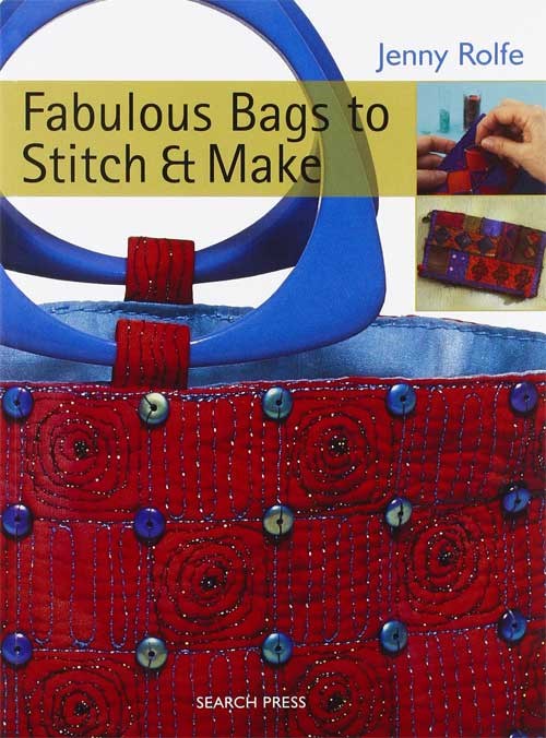 Color and choice of fabrics, threads and embellishments, combined with beautiful bag and purse designs, make this a unique collection of projects.